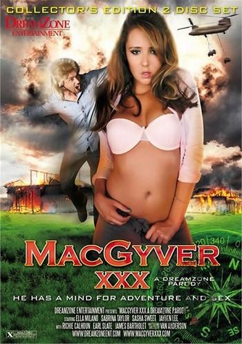 МакГайвер: Порно Пародия