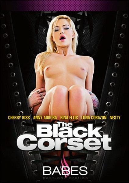 Чёрный корсет