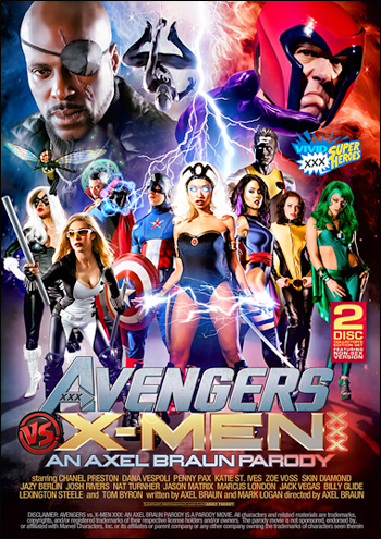 Vivid - Avengers vs X-Men XXX: An Axel Braun Parody